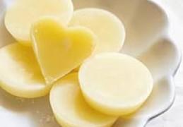 Borstplaat vanille