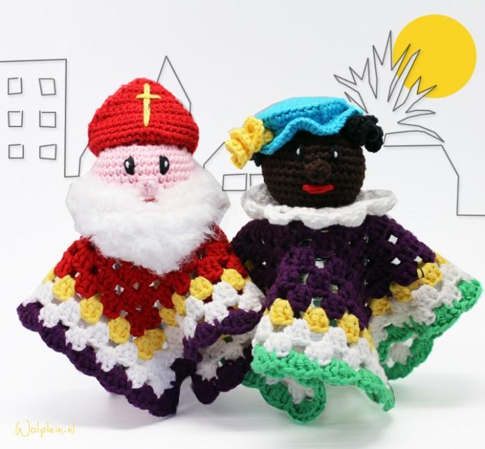 Sinterklaas en piet haken